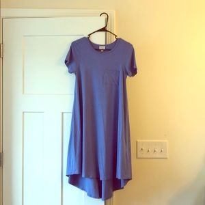 Lularoe Blue Carly Dress XXS